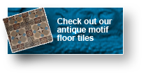 check out our antique motif floor tiles
