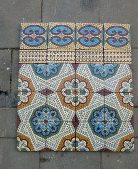 Unusual 12X12 Interlocking Ceiling Tiles Tiny 12X12 Tiles For Kitchen Backsplash Flat 1930S Floor Tiles Reproduction 2 X 12 Subway Tile Old 2X2 Ceiling Tiles White2X4 Ceiling Tiles Home Depot Antique Floor Tiles Model: Jugendstil Ceramic Motif Tiles   Andera ..